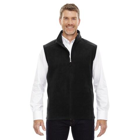 Journey Men's Black Fleece Big and Tall Vest