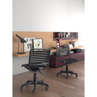Zuo Stretchie Black Polyester Office Chair