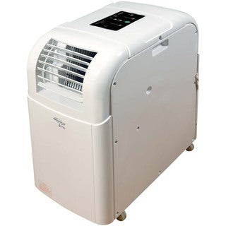 SoleusAir 8,000 BTU 115-volt White Portable Evaporative Air Conditioner With LCD Remote Control