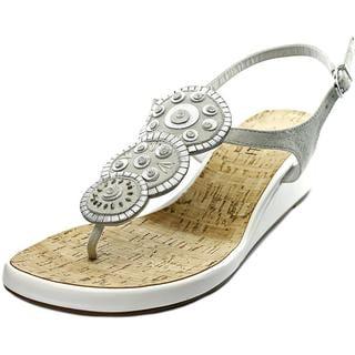 Vaneli Women's 'Kalinda' Regular Suede Sandals