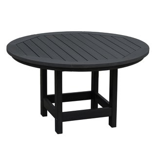 Highwood Eco-friendly Marine-grade Synthetic Wood Adirondack 36-inch Round Conversation/ Coffee Table