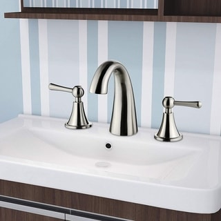 Silver Vanity Art Bathroom Faucet
