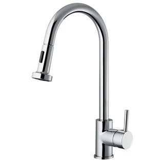 Vanity Art Chrome Lead-free Kitchen Faucet