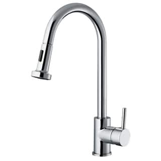Vanity Art Chrome Lead-free Kitchen Faucet|https://ak1.ostkcdn.com/images/products/12450058/P19264072.jpg?impolicy=medium