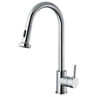 Vanity Art Chrome Lead-free Kitchen Faucet