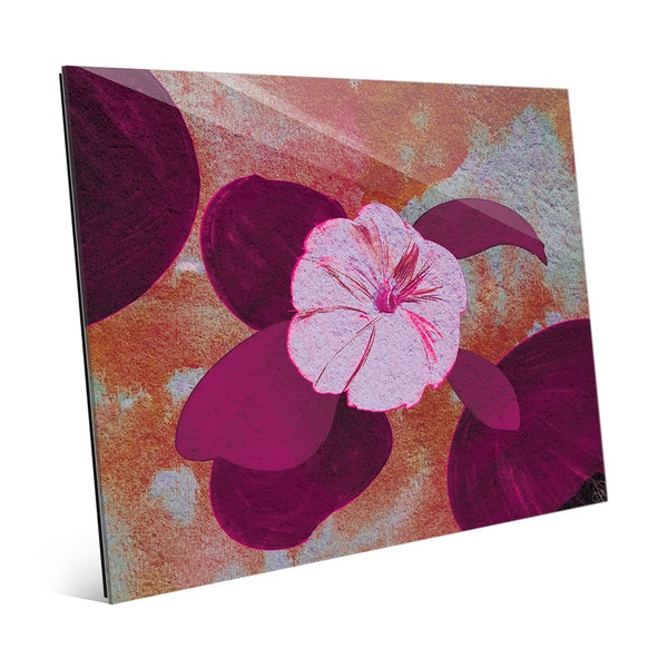 'Thulian Bindweed' Wall Art on Glass