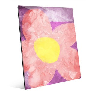 Delighted Flower Wall Art on Acrylic