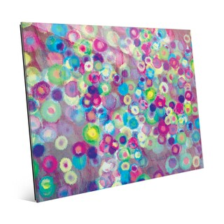 Blooming Bokeh Wall Art on Acrylic