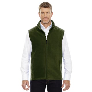 Journey Men's Forest Green Fleece Big and Tall Vest