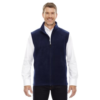Journey Men's Classic Navy Fleece Big and Tall Vest