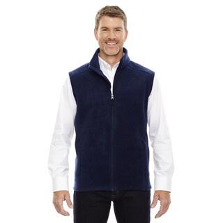 Journey Men's Classic Navy Fleece Big and Tall Vest