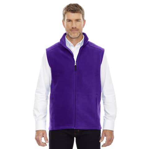 Journey Men's 427 Campus Purple Fleece Big and Tall Vest