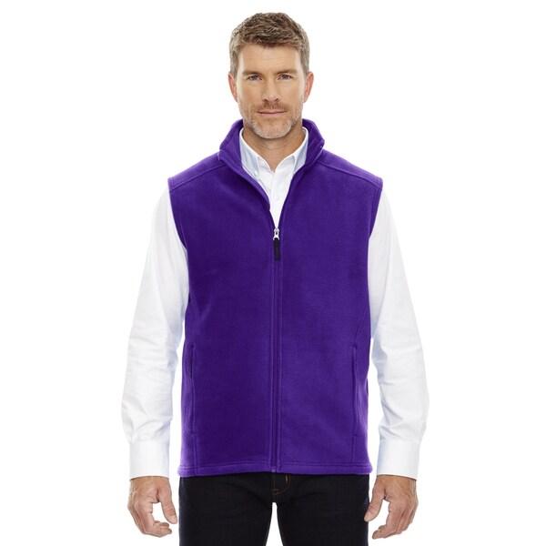 Journey Men's 427 Campus Purple Fleece Big and Tall Vest. Opens flyout.
