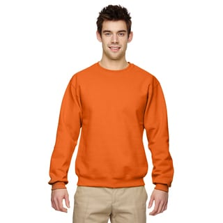 Men's Tennessee Orange 50/50 Nublend Fleece Big and Tall Crewneck Sweater