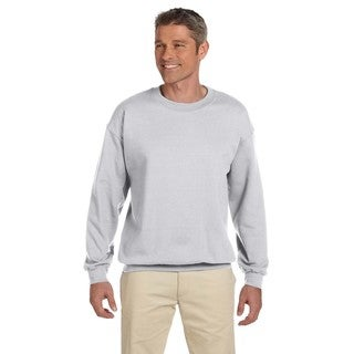 Men's Super Sweats Ash 50/50 Nublend Fleece Big and Tall Crewneck Sweater