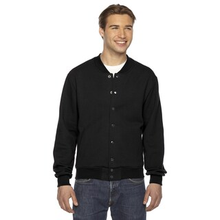 Amerixan Apparel Unisex Black Flex Fleece Big and Tall Club Jacket