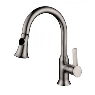 Lazaro Brushed Nickel Finish Single-handle Pull-out Kitchen Faucet