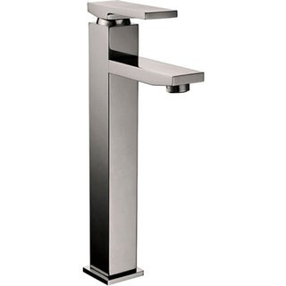 Dana Brushed Nickel Finish Single-handle Vessel Faucet