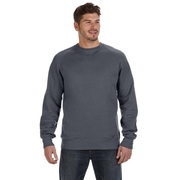 0b8542d7c2 Shop Nano Men s Big and Tall Crew-neck Sweater Charcoal Heather - On Sale -  Free Shipping On Orders Over  45 - Overstock - 12450347