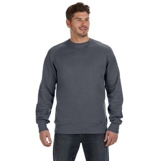 Nano Men's Big and Tall Crew-neck Sweater Charcoal Heather