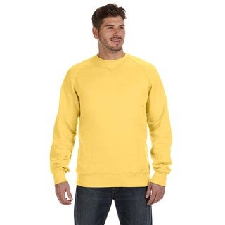 Hanes Men's Nano Vintage Gold Big and Tall Crewneck Sweater