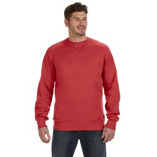 Men's Nano Vintage Red Big and Tall Crewneck Sweater