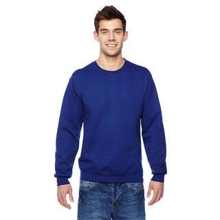 Sofspun Men's Big and Tall Admiral Blue Crewneck Sweatshirt