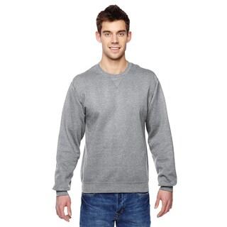 Men's Sofspun Athletic Heather Cotton/Polyester Big and Tall Crewneck Sweatshirt