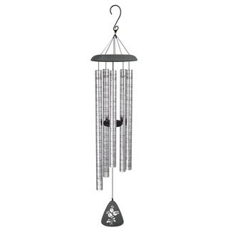 Carson Home Accents Aluminum 44-inch 'Roses for Mother' Sonnet Wind Chime
