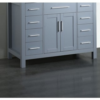 "43"" Bosconi SB-252-7GRMC Main Cabinet Grey"