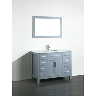 43'' Bosconi SB-252-7GRPS Contemporary Single Vanity