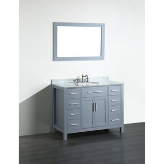 43'' Bosconi SB-252-7GRCM Contemporary Single Vanity
