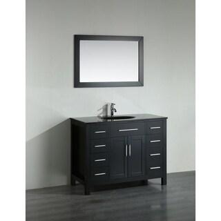 43'' Bosconi SB-252-7BBG Contemporary Single Vanity