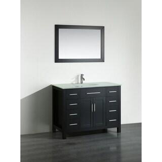 43'' Bosconi SB-252-7BEWG Contemporary Single Vanity