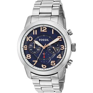 Fossil Men's FS5203 'Pilot 54' Chronograph Stainless Steel Watch