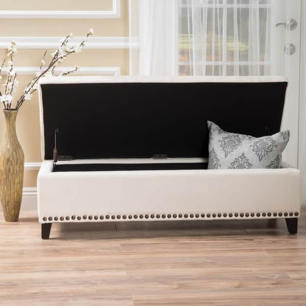 Superb Shop Isra Fabric Storage Ottoman Bench By Christopher Knight Bralicious Painted Fabric Chair Ideas Braliciousco