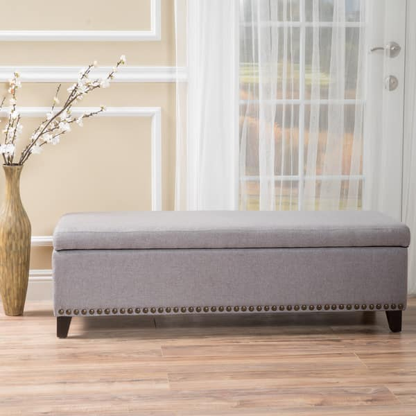 Miraculous Shop Isra Fabric Storage Ottoman Bench By Christopher Knight Bralicious Painted Fabric Chair Ideas Braliciousco