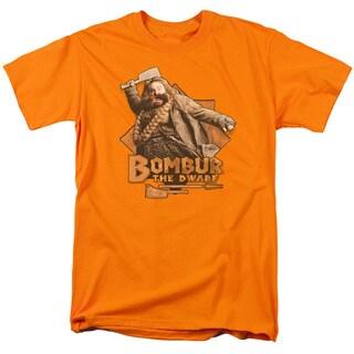 The Hobbit/Bombur Short Sleeve Adult T-Shirt 18/1 in Orange