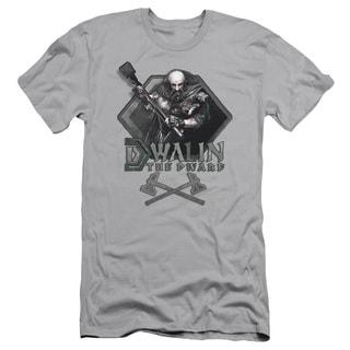 The Hobbit/Dwalin Short Sleeve Adult T-Shirt 30/1 in Silver