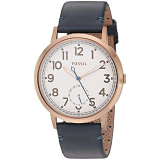 Fossil Women's ES4062 'Everyday Muse' Multi-Function Blue Leather Watch