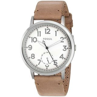 Fossil Women's ES4060 'Everyday Muse' Multi-Function Brown Leather Watch