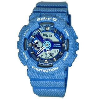 Casio Women's BA110DC-2A2 Baby-G Blue Watch