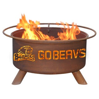 "Patina Products F231 24"" Steel Oregon State University Fire Pit"
