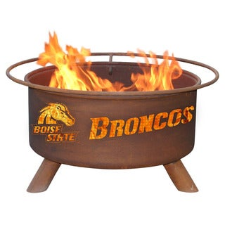 "Patina Products F234 24"" Steel Boise State University Fire Pit"