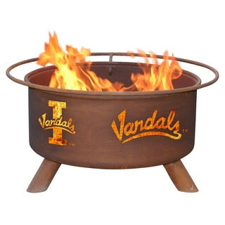 "Patina Products F408 24"" University Of Idaho Vandals Fire Pit"