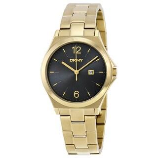 DKNY Men's NY2366 Parsons Black Watch