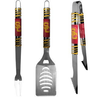 Collegiate USC Trojans Multicolored Stainless Steel Tailgater 3-piece Barbecue Set|https://ak1.ostkcdn.com/images/products/12451458/P19265375.jpg?impolicy=medium