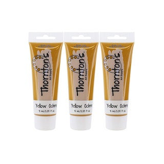 Thornton's Art Supply Yellow Ochre 75-milliliter (2.54-ounce) Acrylic Paint Tube