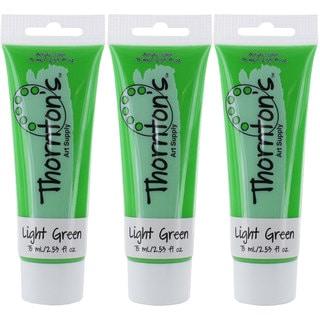 Thornton's Art Supply Light Green 2.54-ounce Acrylic Paint Tubes