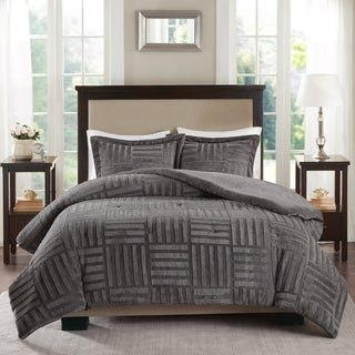 Premier Comfort Polar Fur Down Alternative Comforter Mini Set